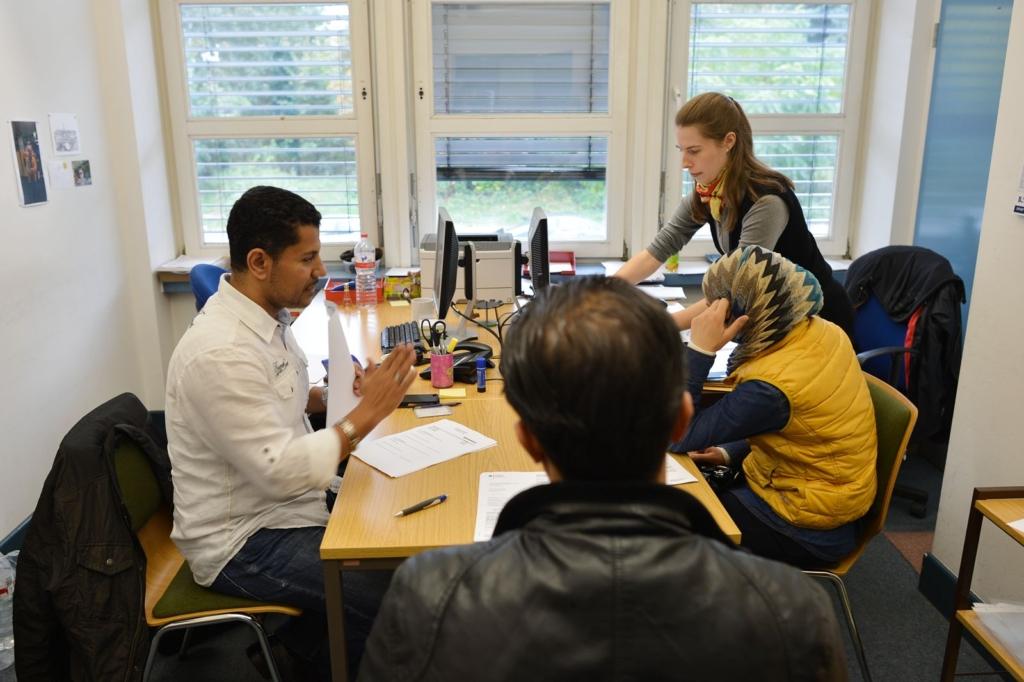 Beratung für Asylbewerber