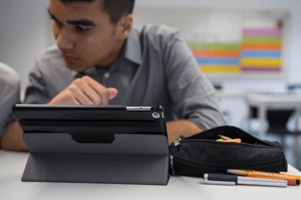 Lernen mit digitalen Geräten