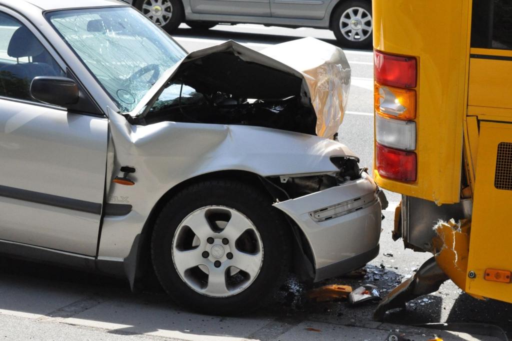 Was tun bei einem Verkehrsunfall?